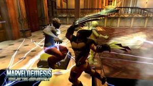 Marvel Nemesis sur PSP