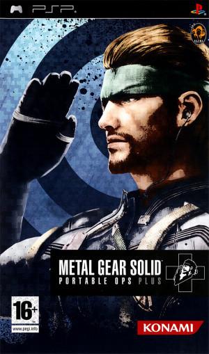 Metal Gear Solid : Portable Ops Plus sur PSP