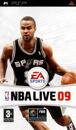 NBA Live 09 sur PSP