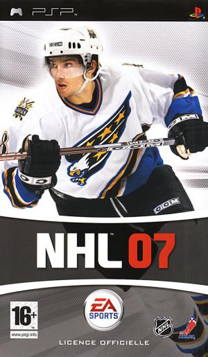 NHL 07 sur PSP