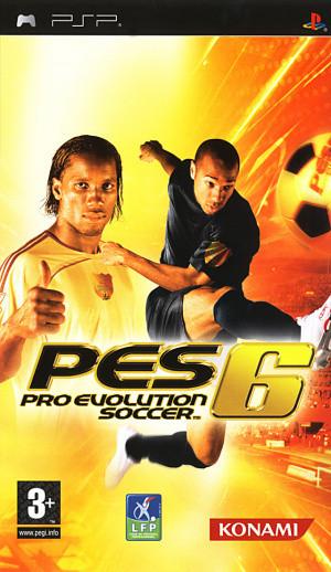 Pro Evolution Soccer 6 sur PSP