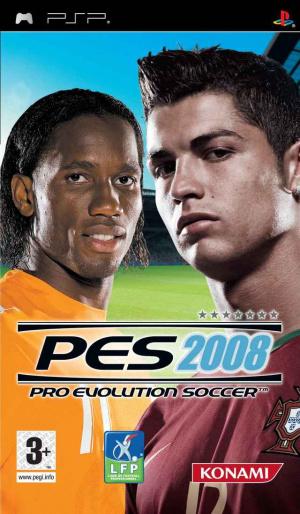 Pro Evolution Soccer 2008 sur PSP