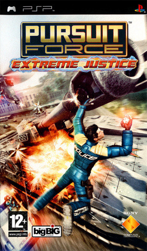 Pursuit Force : Extreme Justice sur PSP