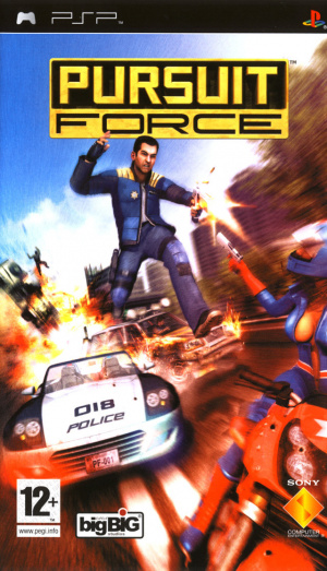 Pursuit Force sur PSP