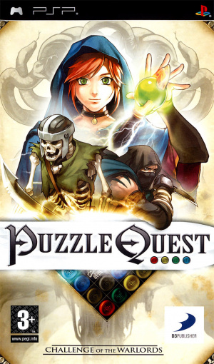 Puzzle Quest : Challenge of the Warlords sur PSP