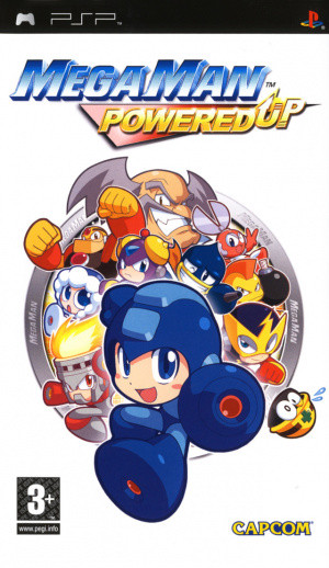 Mega Man Powered Up sur PSP