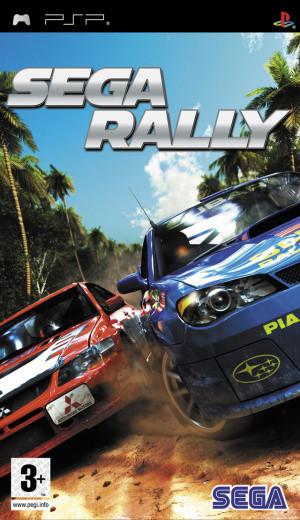 Sega Rally sur PSP