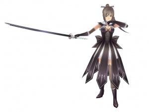 Les personnages de Shining Blade en images