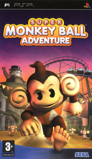 Super Monkey Ball Adventure sur PSP