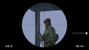 Images : Socom à couvert sur PSP