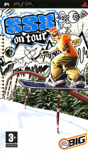 SSX on Tour sur PSP