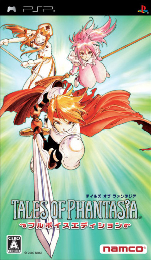 Tales of Phantasia Full Voice Edition sur PSP
