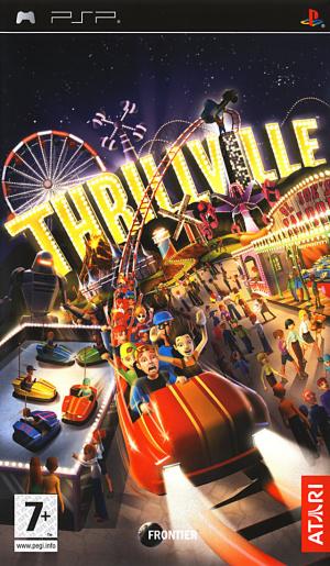 Thrillville sur PSP