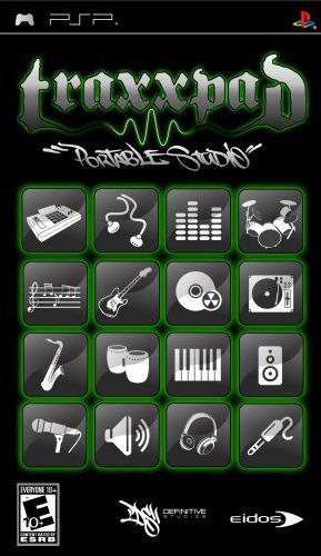 Traxxpad sur PSP