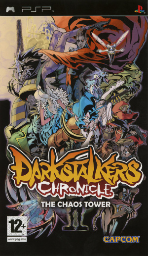 Darkstalkers Chronicles : The Tower of Chaos sur PSP