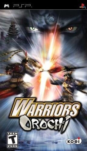 Warriors Orochi sur PSP