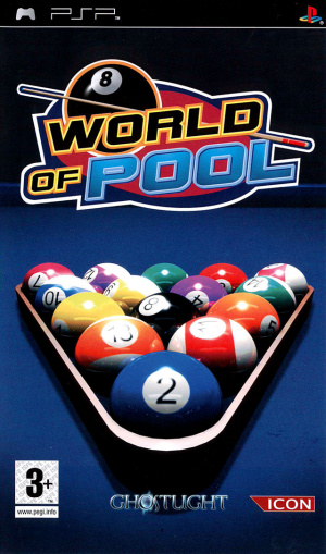 World of Pool sur PSP