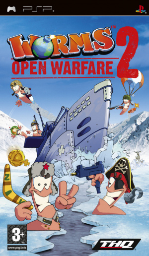 Worms : Open Warfare 2 sur PSP