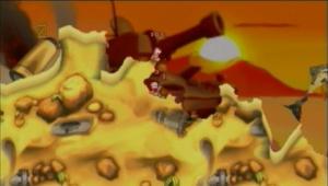Worms Open Warfare 2 : la démo PSP