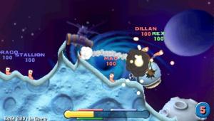 Images : des vers de terre sur DS et PSP