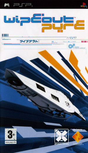 WipEout Pure sur PSP