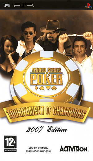 World Series of Poker : Tournament of Champions 2007 Edition sur PSP