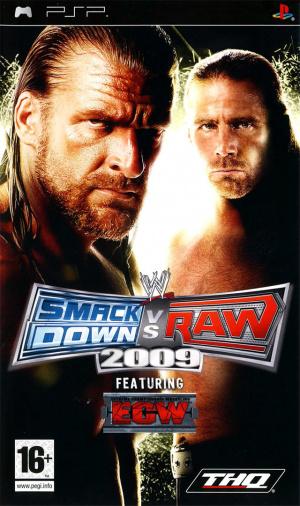 WWE Smackdown vs Raw 2009 sur PSP