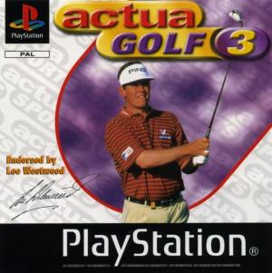 Actua Golf 3 sur PS1