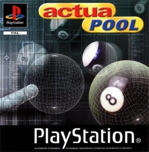 Actua Pool sur PS1