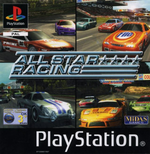 All Star Racing sur PS1