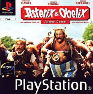 Astérix & Obélix contre César sur PS1