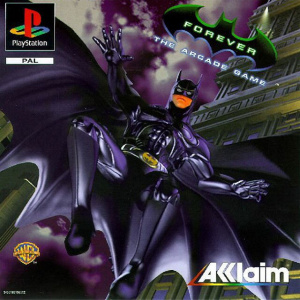 Batman Forever : The Arcade Game sur PS1