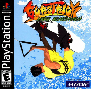 Burstrick Wake Boarding sur PS1