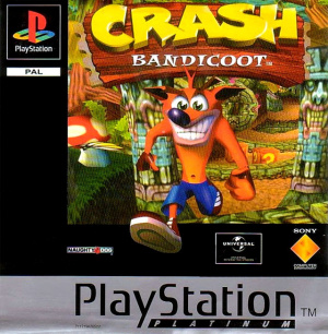 Crash Bandicoot sur PS1