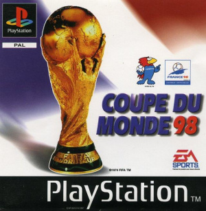 Coupe du monde 98 sur playstation - Date coupe du monde 1998 ...