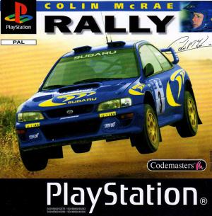 Colin McRae Rally sur PS1