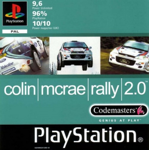 Colin McRae Rally 2.0 sur PS1