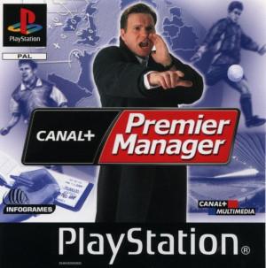 Canal+ Premier Manager sur PS1