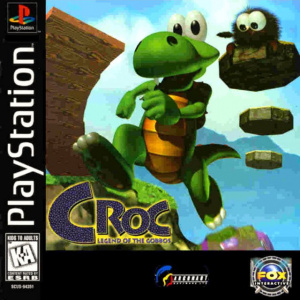 Croc : Legend of the Gobbos sur PS1
