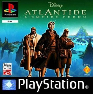 Atlantide : L'Empire Perdu sur PS1