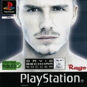 David Beckham Soccer sur PS1