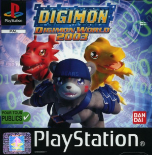 Digimon World 2003 sur PS1