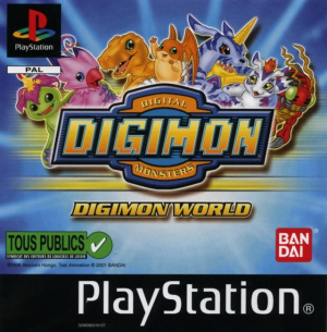 Digimon World sur PS1