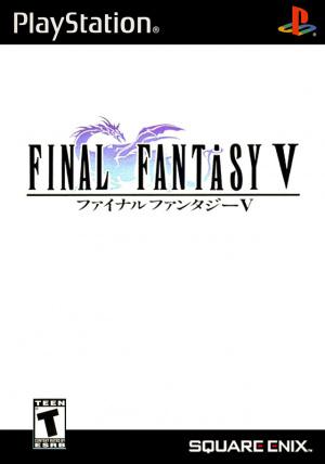 Final Fantasy V sur PS1