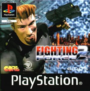 Fighting Force 2 sur PS1