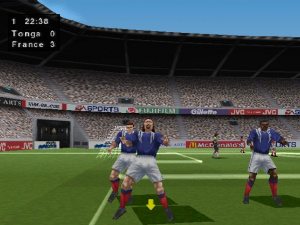 Test du jeu fifa 98 en route pour la coupe du monde sur ps1 - Joueur coupe du monde 98 ...