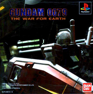 Gundam 0079 : The War For Earth sur PS1