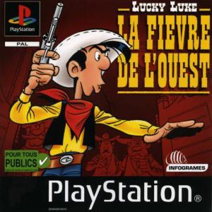 Lucky Luke : La Fièvre de L'Ouest sur PS1