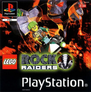LEGO Rock Raiders sur PS1