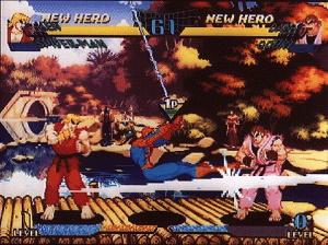 Test de Marvel Super Heroes Vs Street Fighter sur PS1 par